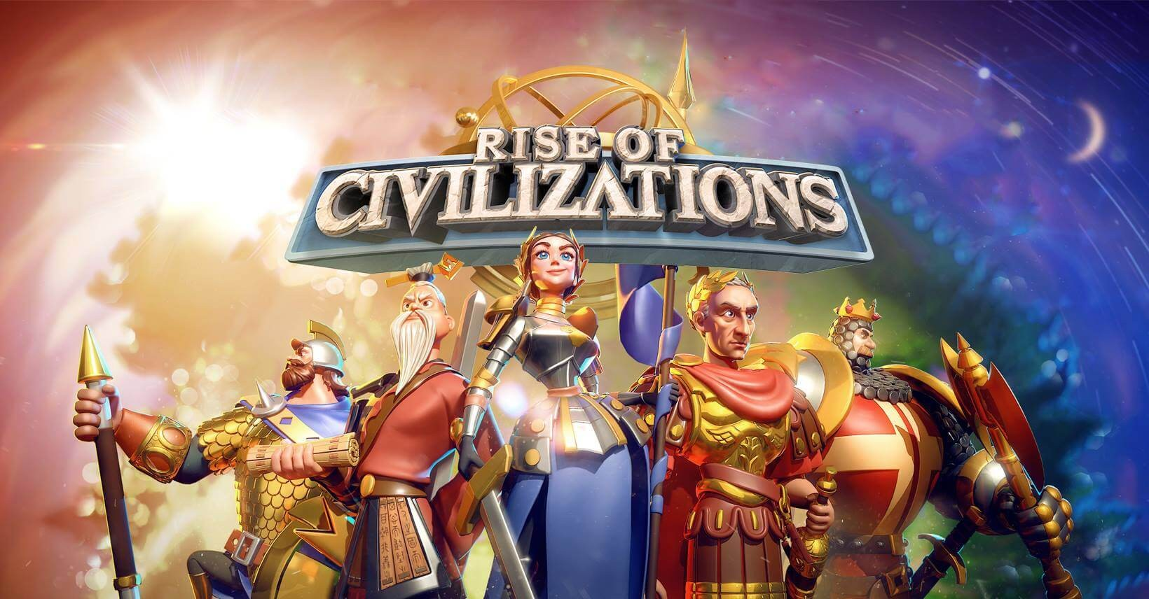rise of civilizations commanders