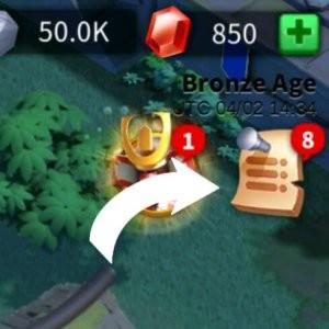 event menu rise of kingdoms