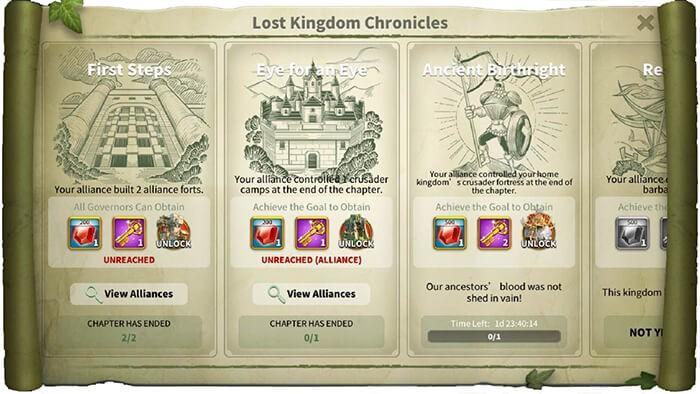 lost kingdom chronicles