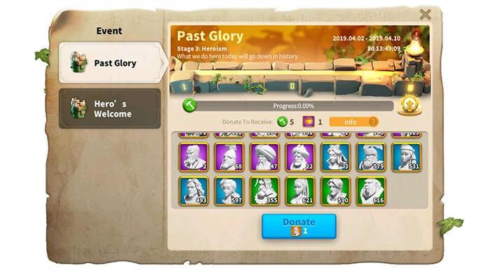 lost kingdom events