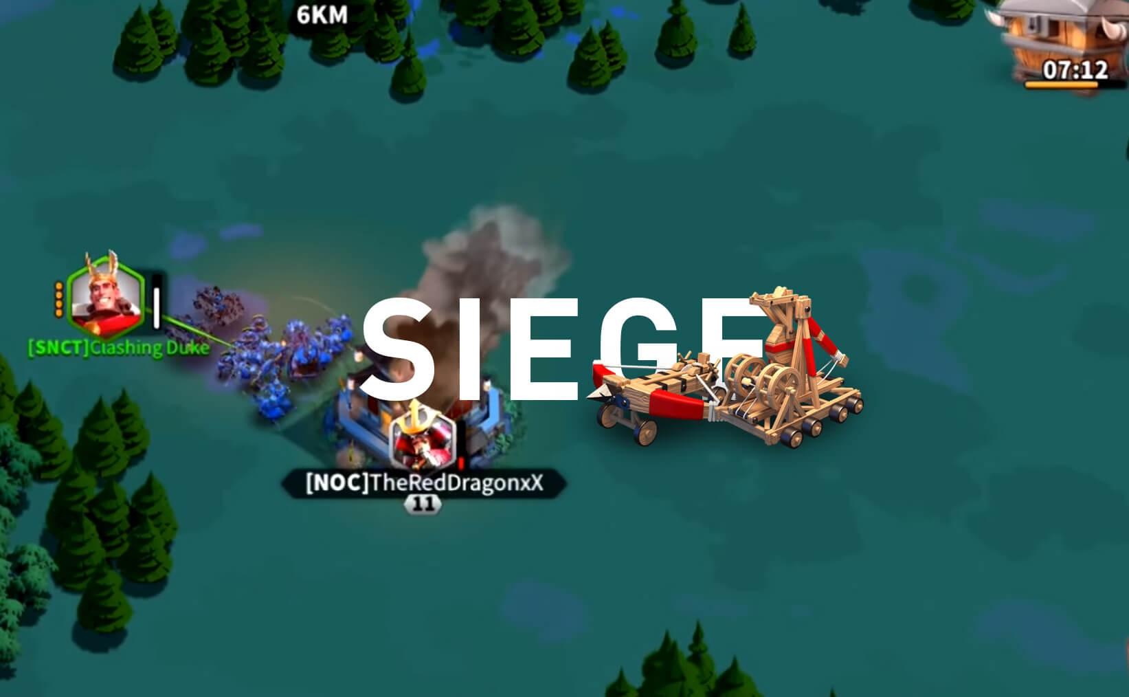 rise of kingdoms siege