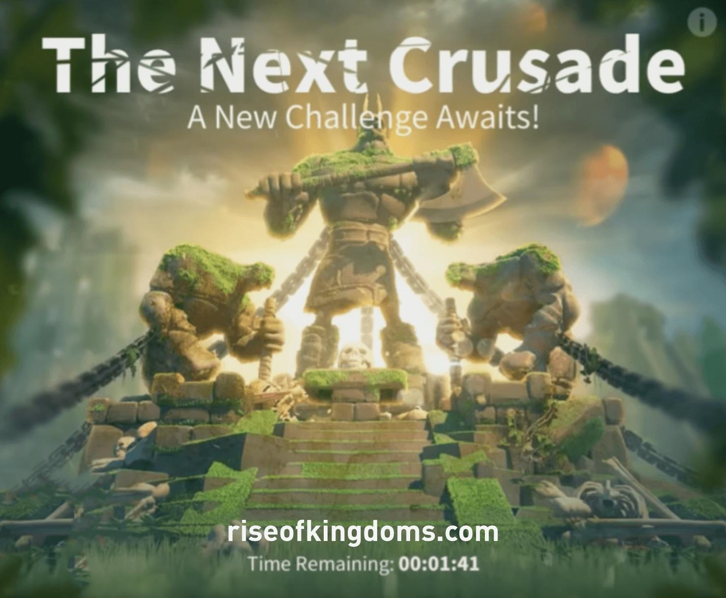 the next crusade