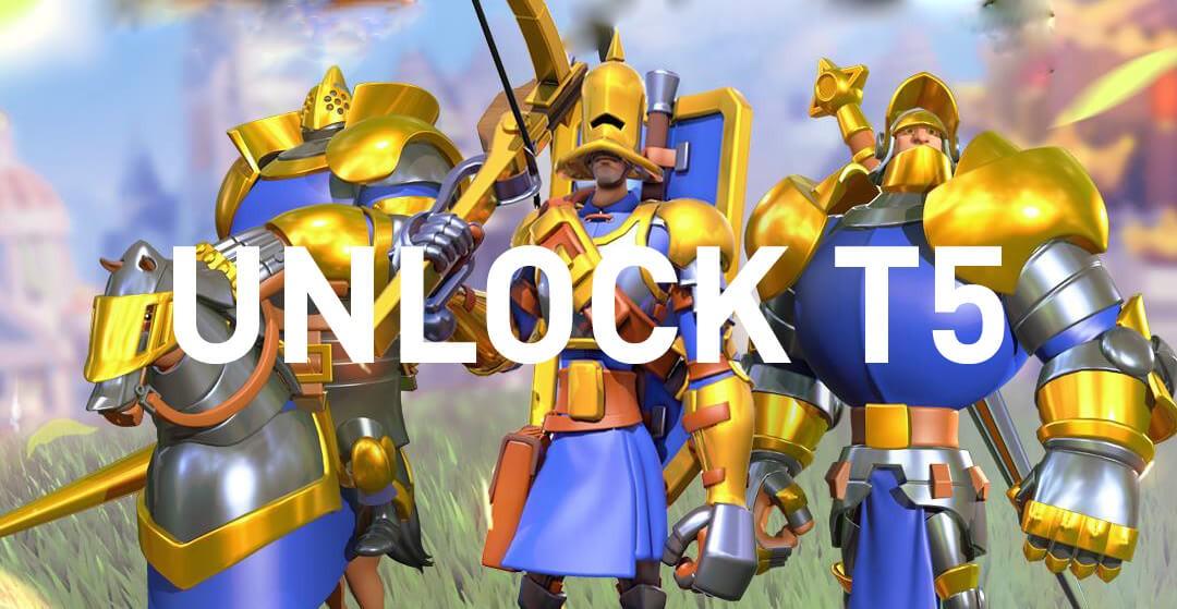 tier 5 units rise of kingdoms