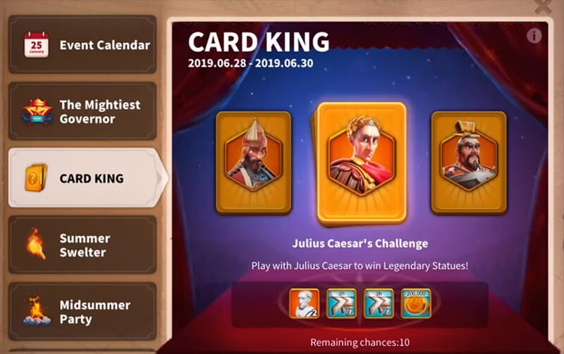 card king event rise of kingdoms