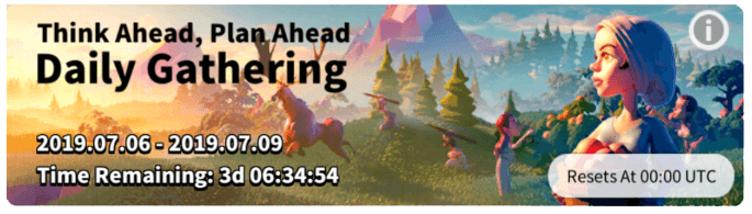 daily gathering event