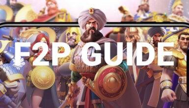 f2p guide rise of kingdoms