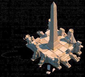 obelisk ark of osiris