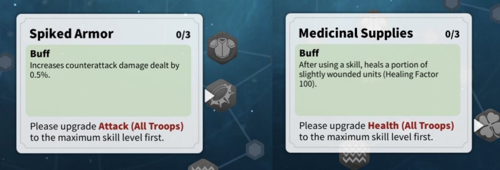 Spiked Armor and Medicinal Supplies