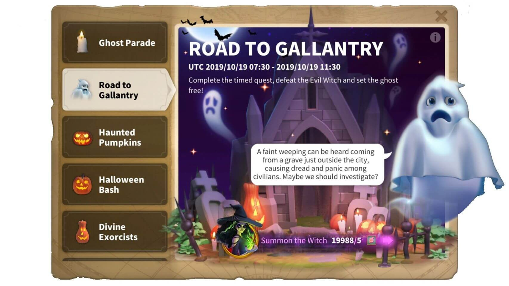 road to gallantry