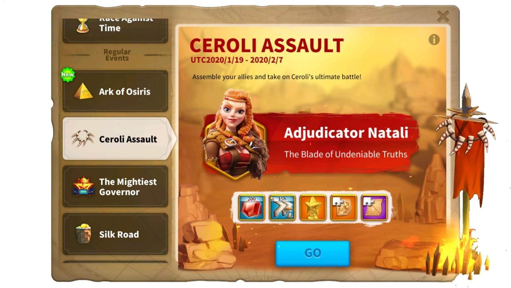 """""""Ceroli Assault"""" Improvements"""