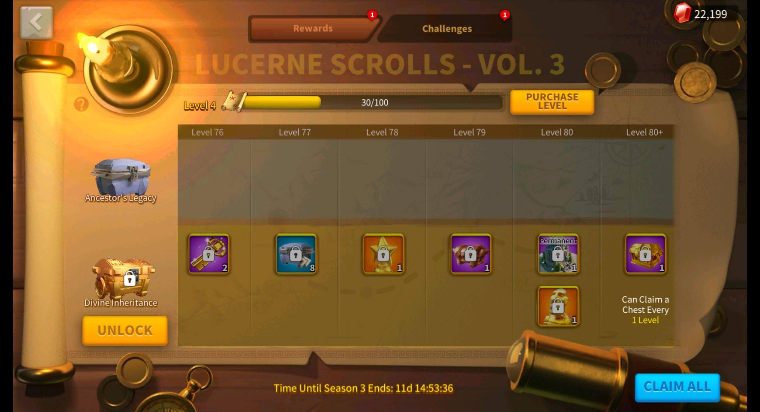 Lucerne Scroll Bundle Rise of Kingdoms