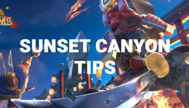 sunet canyon tips