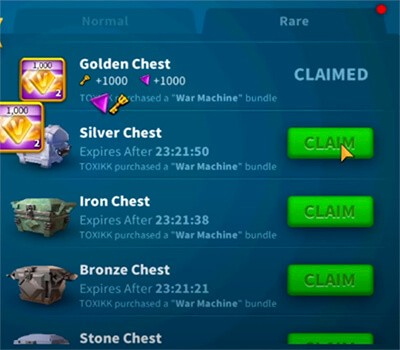 Alliance Chests