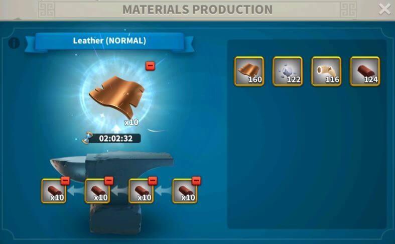producing materials