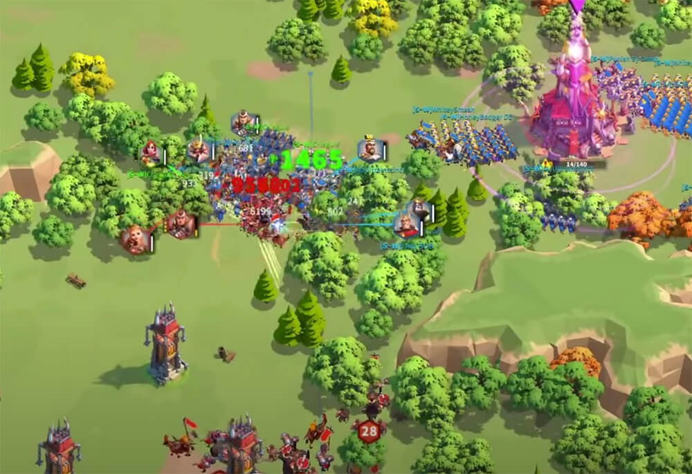Rise of Kingdoms Barbarian Keep