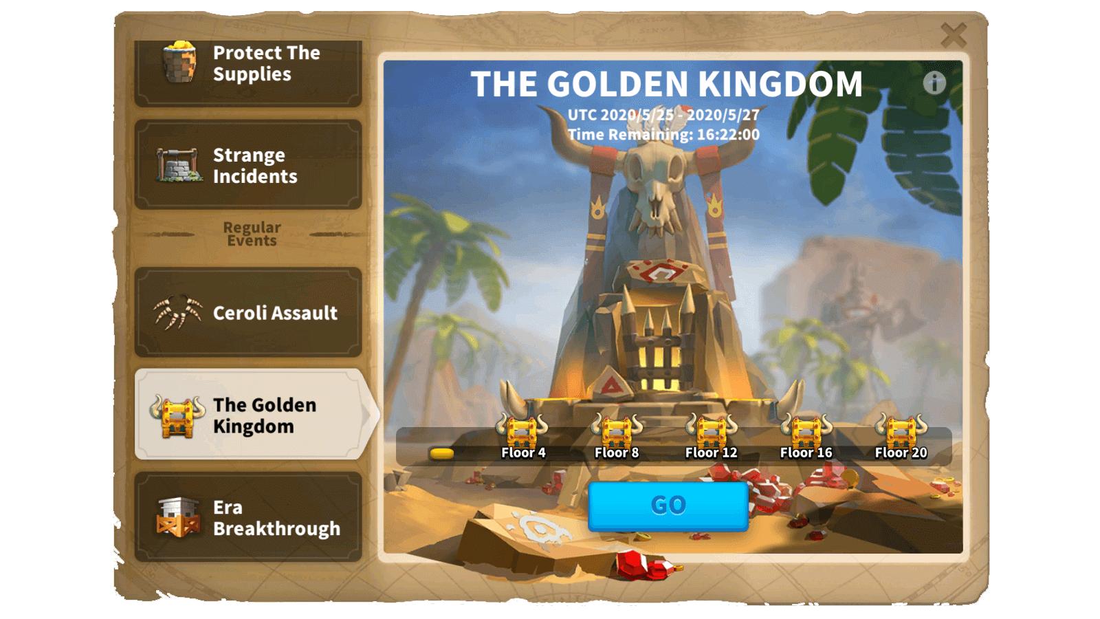The Golden Kingdom Event