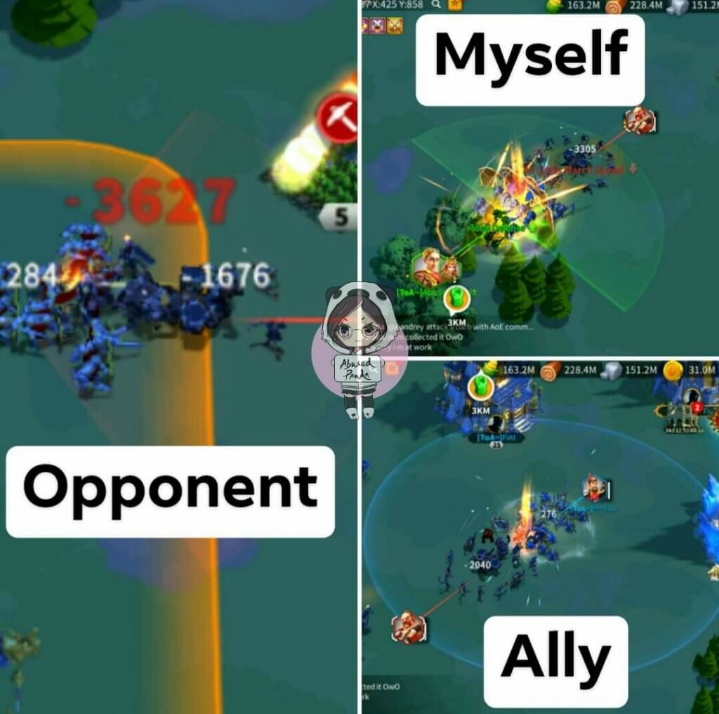 new skill color Rise of Kingdoms