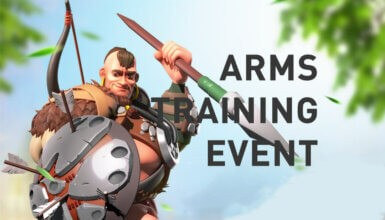 arms training event
