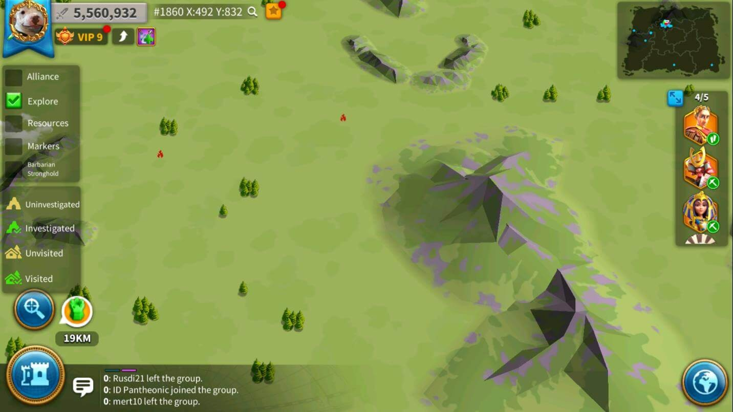 strange incidents burning villages
