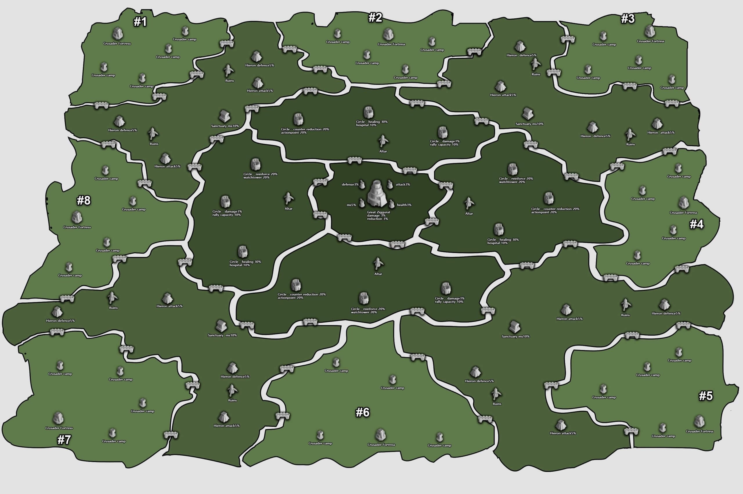 The Lost Kingdom Map