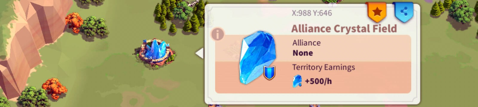 Alliance Crystal Field