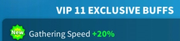 vip exclusive buffs