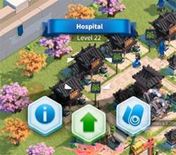 upgrade hospital