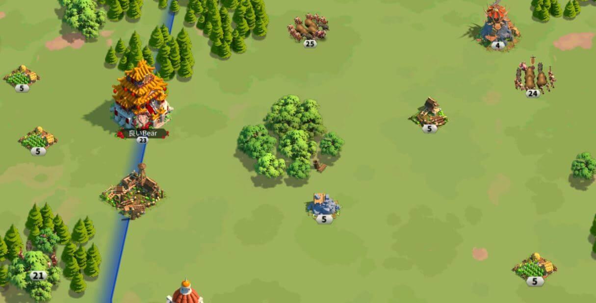Main Rise of Kingdoms Map