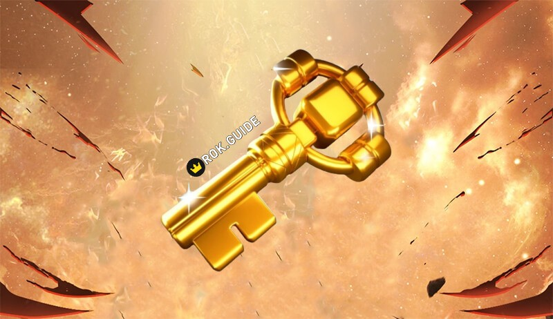 Rise of Kingdoms Golden Key