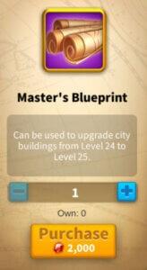 Master's Blueprint