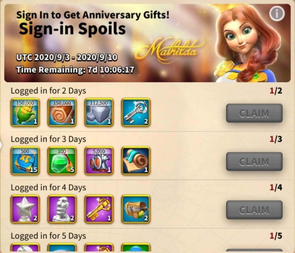 Sign in to get anniversary gifts