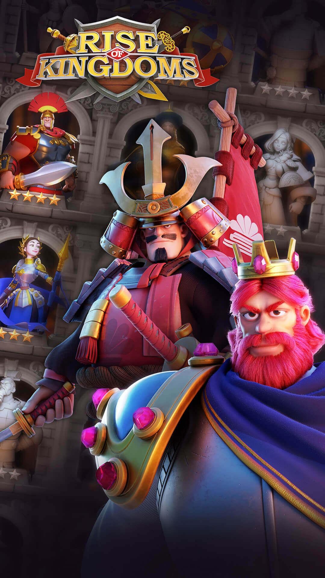 Rise of Kingdoms Wallpaper Kusunoki