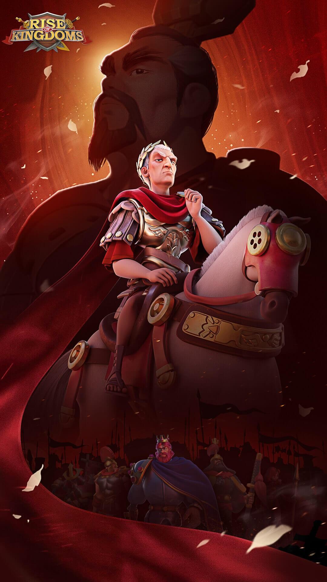 Rise of Kingdoms Wallpaper Caesar
