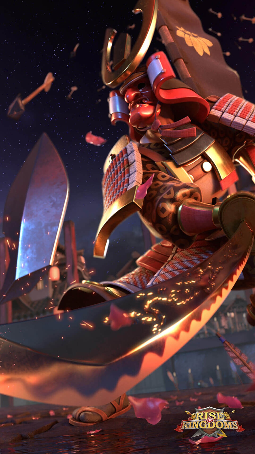 Rise of Kingdoms Wallpaper Minamoto