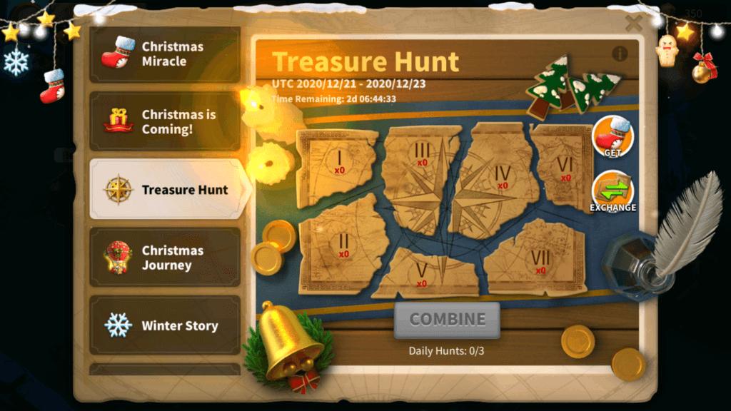 Treasure Hunt Rise of Kingdoms