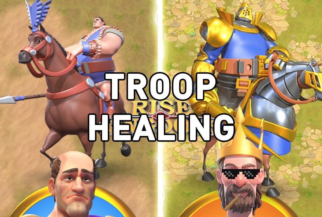Rise of Kingdoms troop healing
