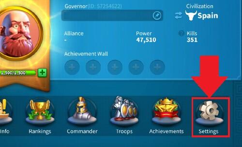 reduce lag Rise of Kingdoms 2
