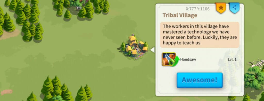 Rise of Kingdoms tribal village