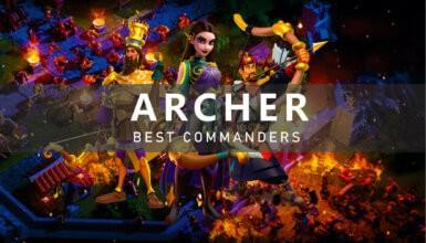 Archer Best Commanders