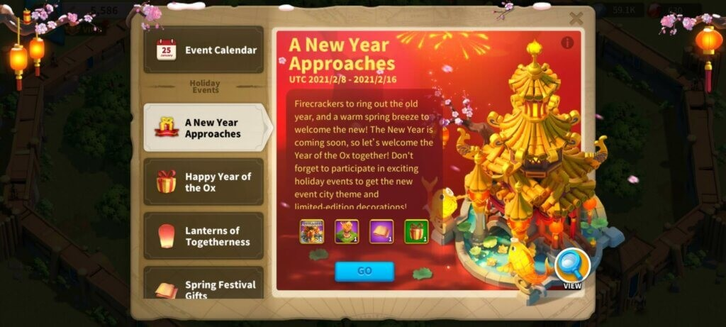 Rise of Kingdoms Spring Festival Event Guide
