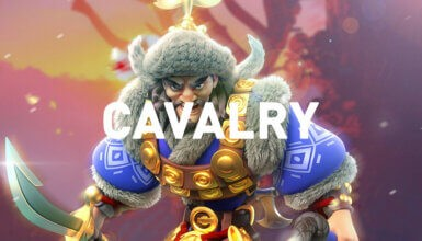 cavalry commanders Rise of Kingdoms