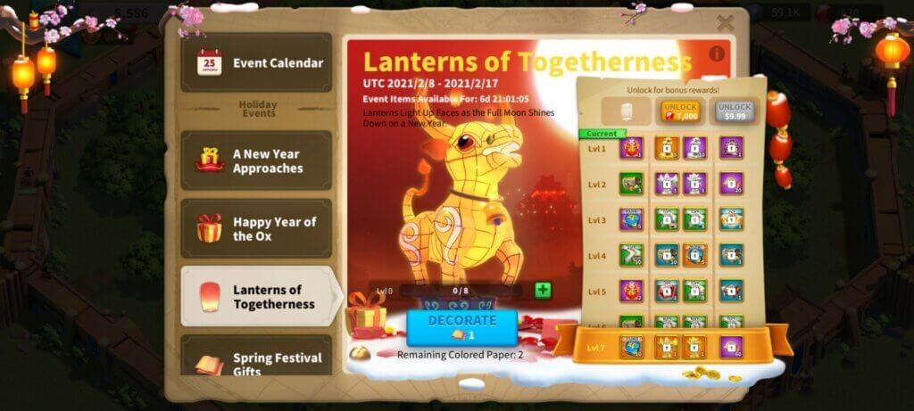 Lanterns of Togetherness