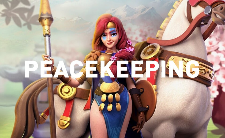 peacekeeping commanders Rise of Kingdoms