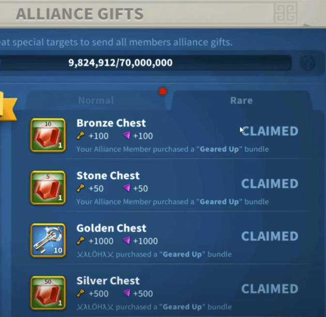 alliance gifts