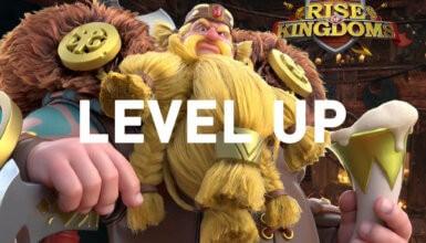 level up Rise of Kingdoms commander