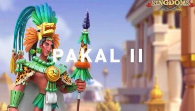 Pakal II Rise of Kingdoms
