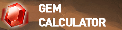 gem calculator