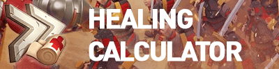 healing calculator
