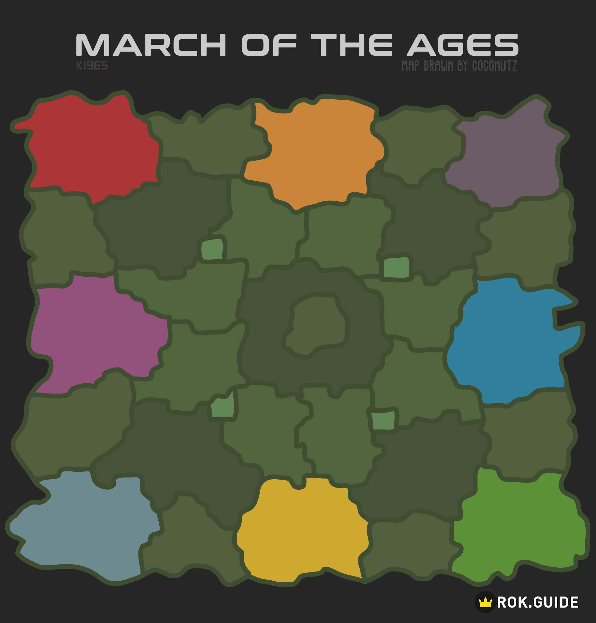 March of the Ages Map Season of Conquest