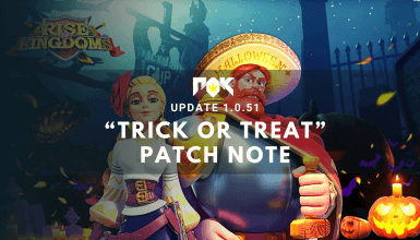 """Update 1.0.51 """"Trick or Treat"""" Patch Note"""